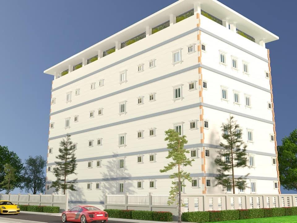 Phối cảnh tổng thể dự án chung cư giá rẻ đầu tiên tại Đức Hòa, Long An