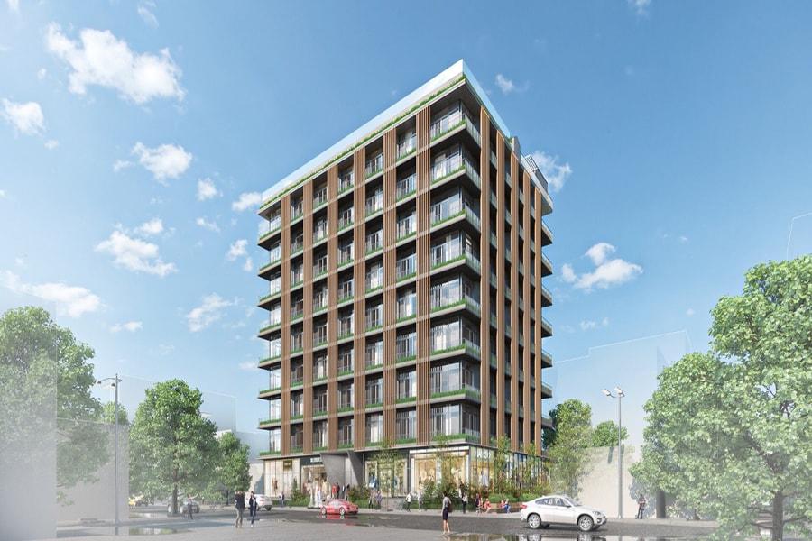 Phối cảnh tổng thể dự án căn hộ Cavahome Bình Chánh