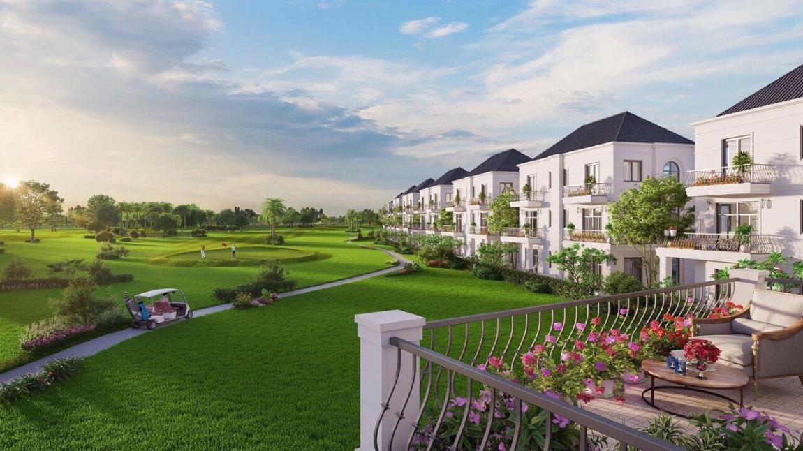 Đất nền nhà phố, biệt thự bên trong sân golf Long Thành