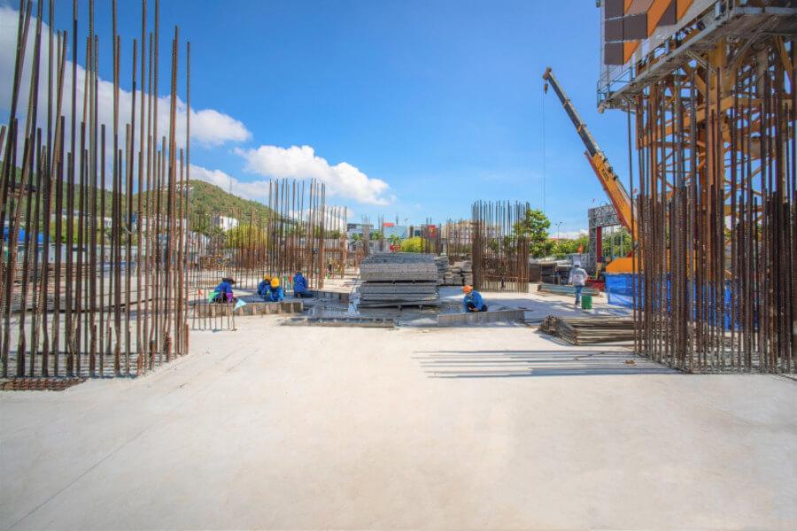 Hình ảnh mới nhất dự án căn hộ Grand Center Quy Nhơn Hưng Thịnh tháng 7/2021 (tt)