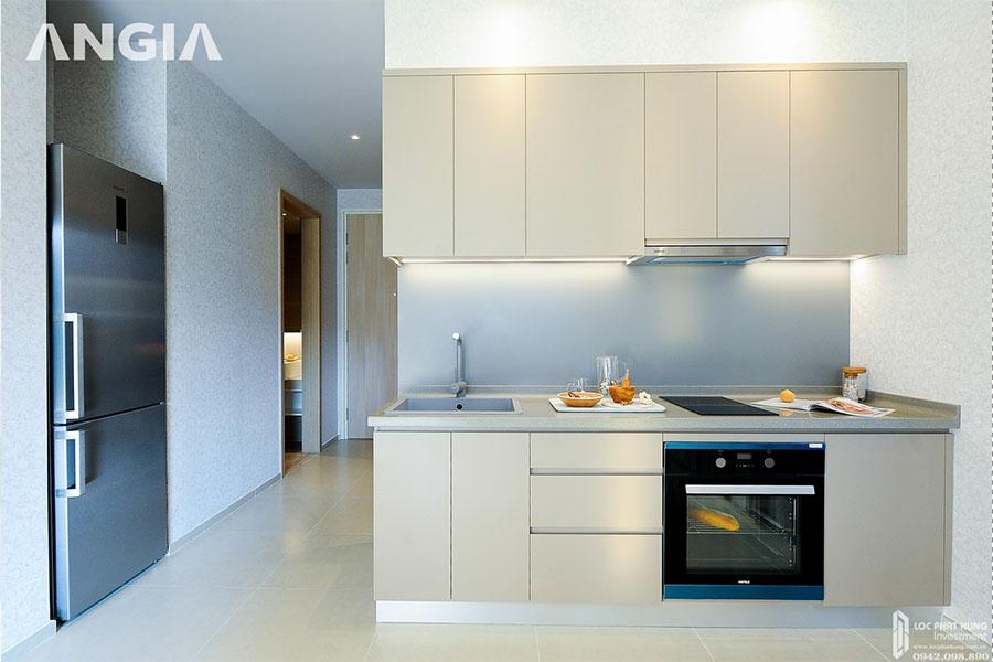 Không gian phòng bếp căn hộ mẫu dự án West Gate Bình Chánh