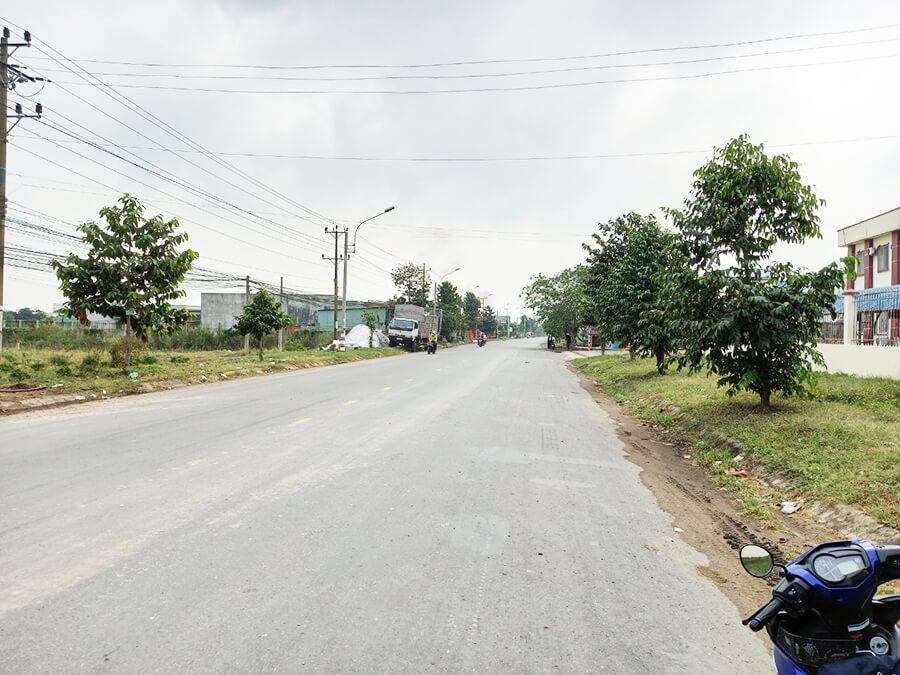 Mặt tiền dự án - đại lộ Nguyễn Trung Trực lộ giới 40m
