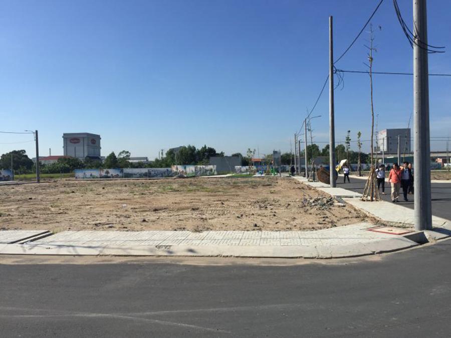 Hình ảnh thực tế tiến độ thi công dự án đất nền Tây Nam Center Long An