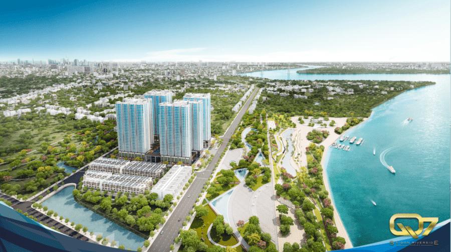 Tổng quan dự án căn hộ Q7 Riverside Hưng Thịnh