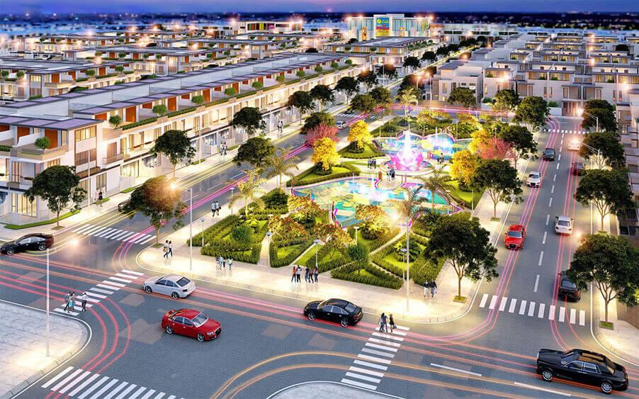 Dự án Tân Lân Residence mặt tiền quốc lộ 50
