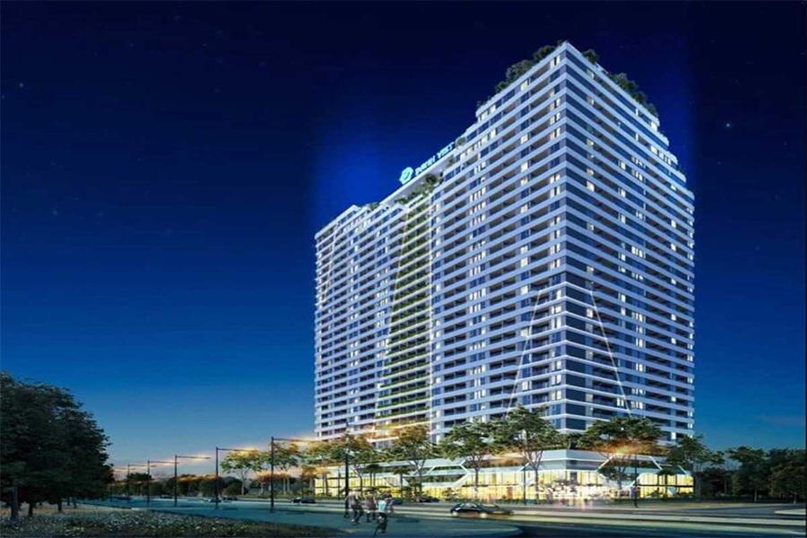 phối cảnh tổng thể dự án căn hộ plaza bình dương