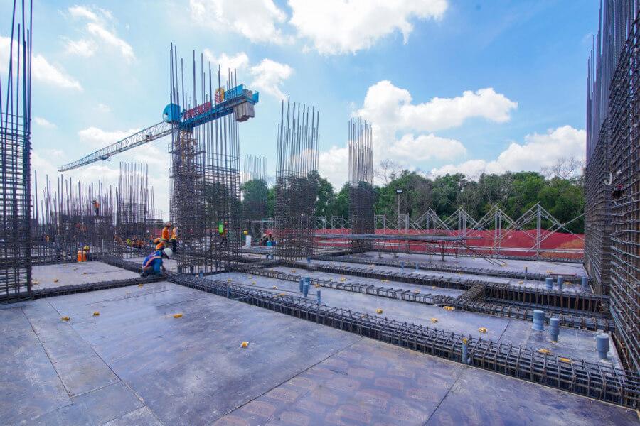 Hình ảnh thực tế tiến độ thi công dự án Lavita Thuận An tháng 07/2021 (tt)