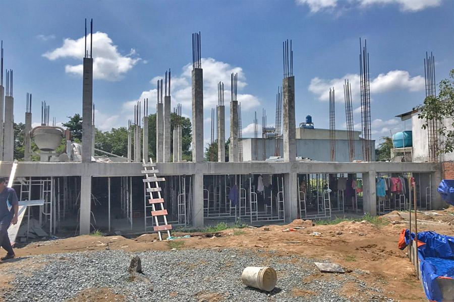 Sau gần 2 tháng chính thức khởi công, dự án chung cư mimi Đại Lộc Hải Sơn vẫn đảm bảo tiến độ thi công theo kế hoạch đã đề ra.