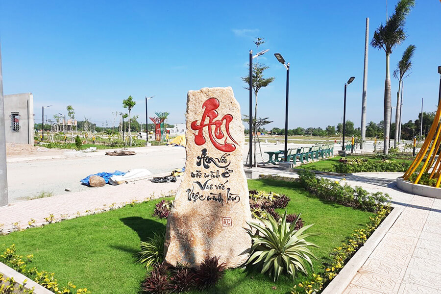 Công viên dự án Long Cang Residence