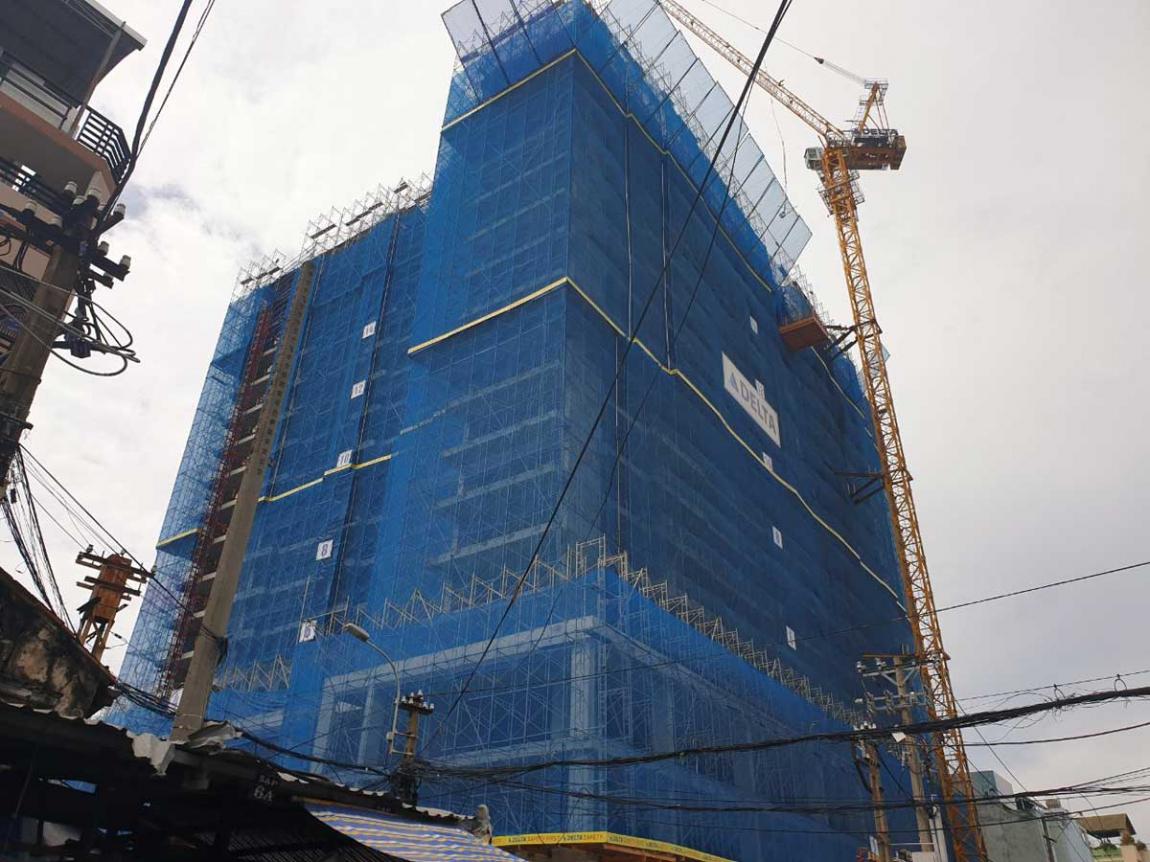 Cập nhật tiến độ thi công dự án căn hộ Venus Luxury tháng 07/2020.