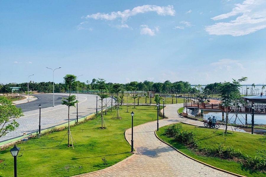 Công viên dự án với đa dạng hệ sinh thái thực vật dần hoàn thiện