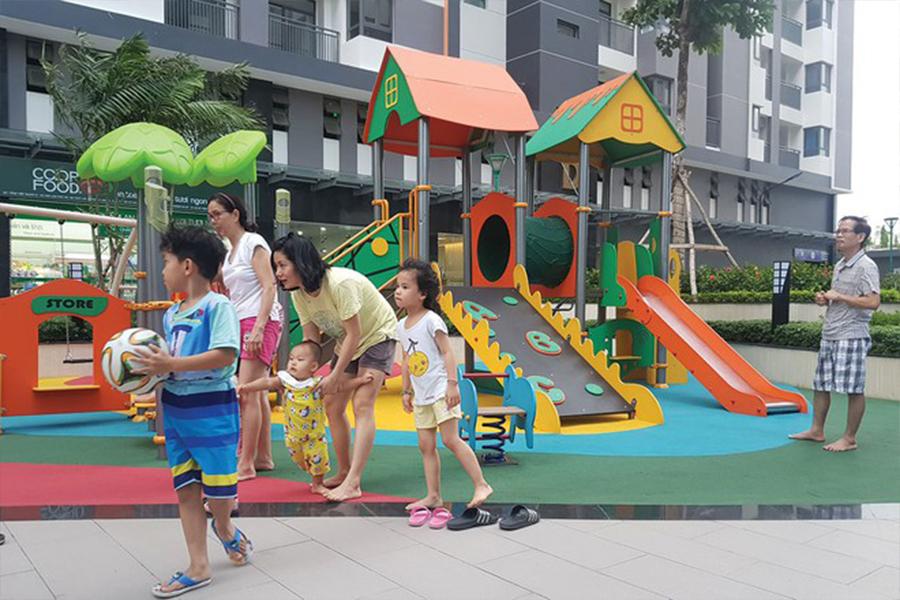 Khu vui chơi trẻ em không chỉ là nơi giải trí của những thiên thần nhỏ bé mà còn là nơi mang lại cho các bậc phụ huynh một cảm giác hạnh phúc và bình yên đến lạ.