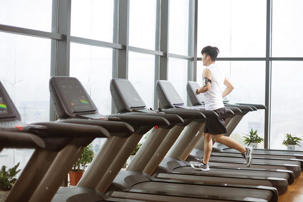 Tiện ích phòng Gym của dự án Venus Luxury quận 5.
