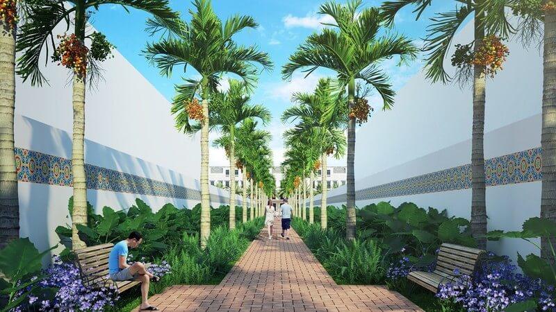 Phối cảnh tiện ích dự án đất nền Long Kim Residence