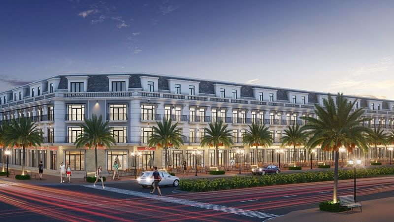 Tiện ích Shophouse và nhà phố thương mại mặt tiền Nguyễn Văn Tuôi dự án Long Kim Residence