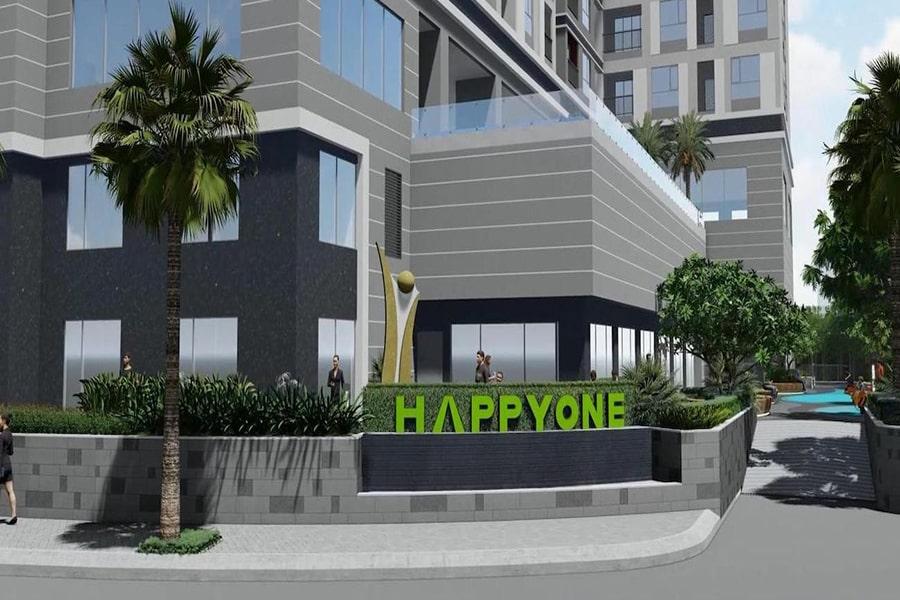 Khuôn viên dự án Happy One Premier Thạnh Lộc