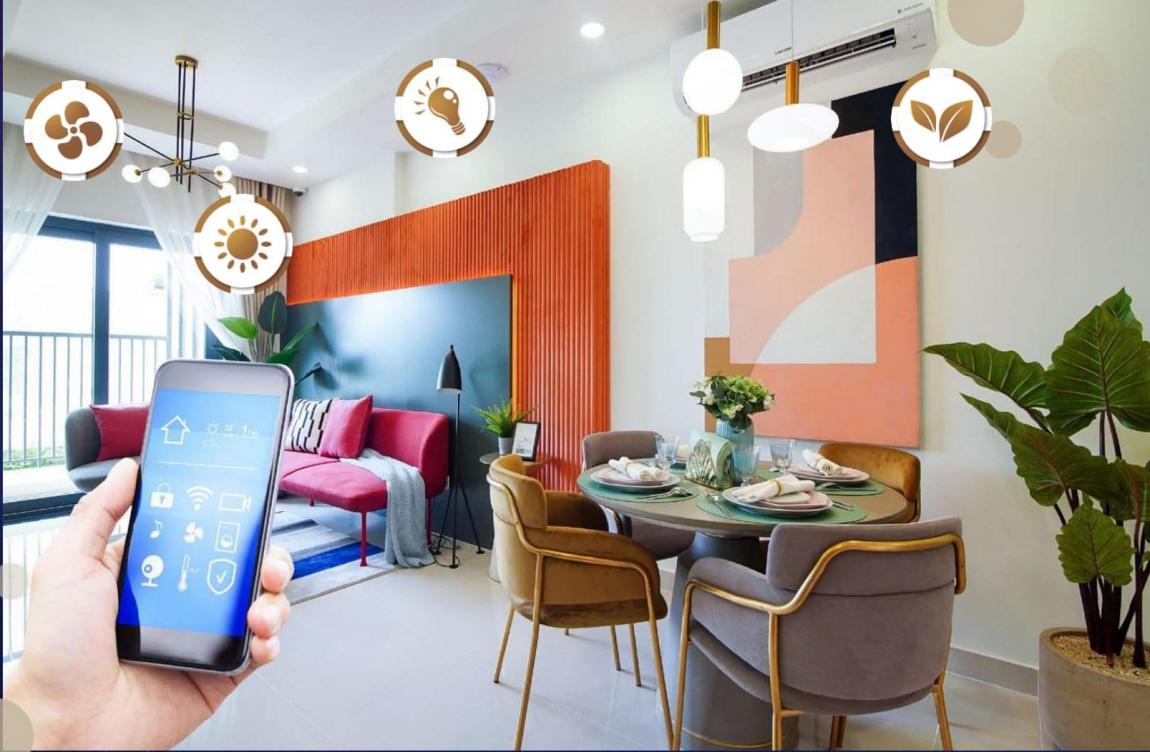New Galaxy tự hào là dự án căn hộ đầu tiên tại TP Dĩ An - Bình Dương được áp dụng công nghệ Smart Home hiện đại