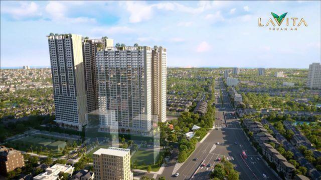Phối cảnh tổng quan dự án căn hộ Lavita Thuận An Bình Dương - Tập đoàn Hưng Thịnh