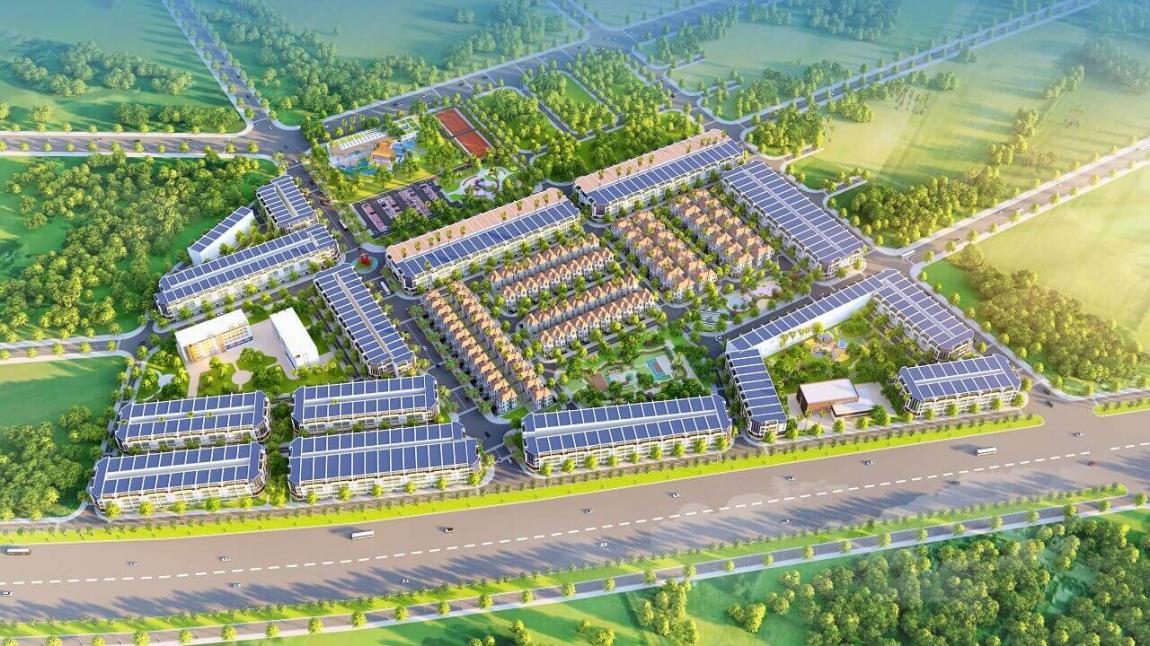 Phối cảnh dự án đất nền Long Kim Residence