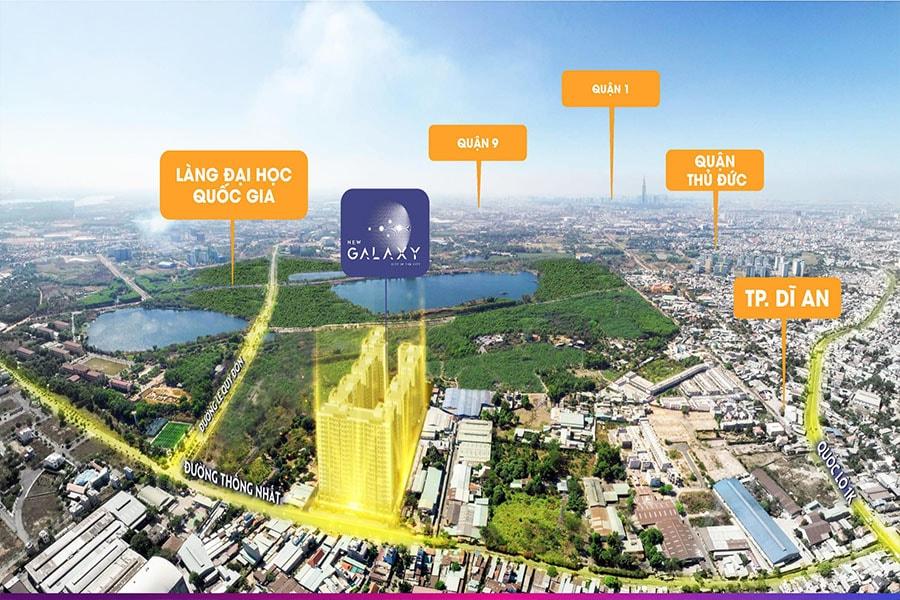 Khu căn hộ New Galaxy - cộng đồng tri thức phía đông Sài Gòn, liền kề làng đại học quốc gia TP HCM