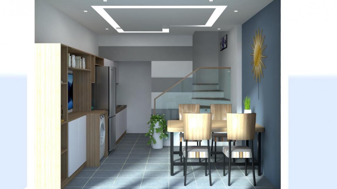 Nhà mẫu dự án nhà phố Hựu Thạnh - Long An