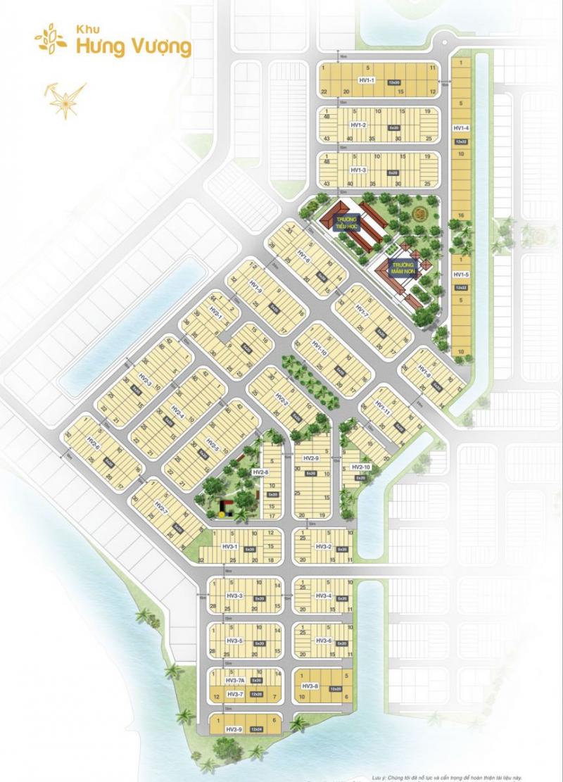Mặt bằng dự án biên hòa new city