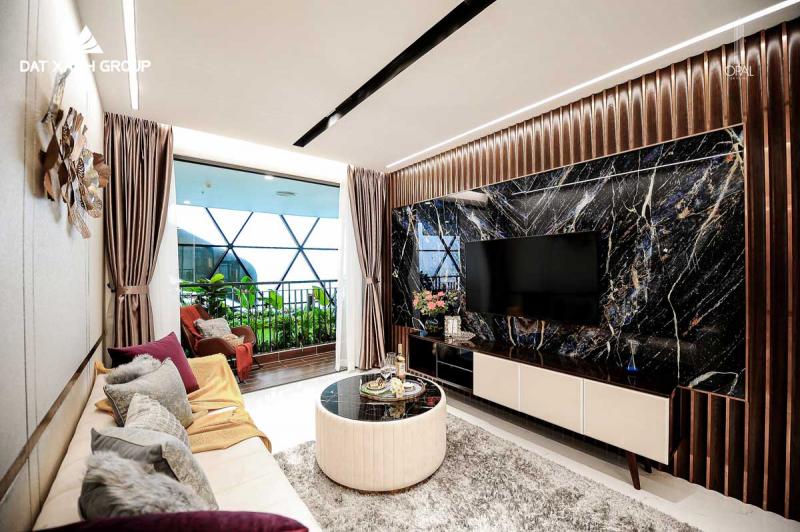căn hộ mẫu dự án Opal Skyline