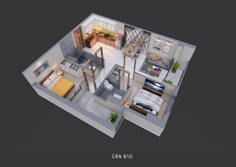 Thiết kế căn hộ La Partenza