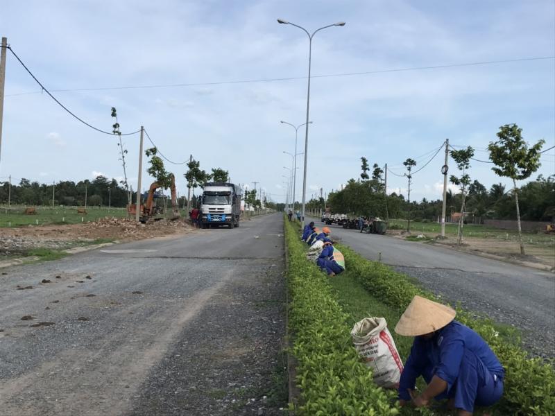 tiến độ dự án vĩnh long new town