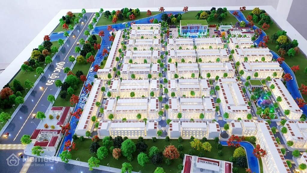 Sa bàn phân lô dự án đất nền Tân Lân Residence Cần Đước Long An