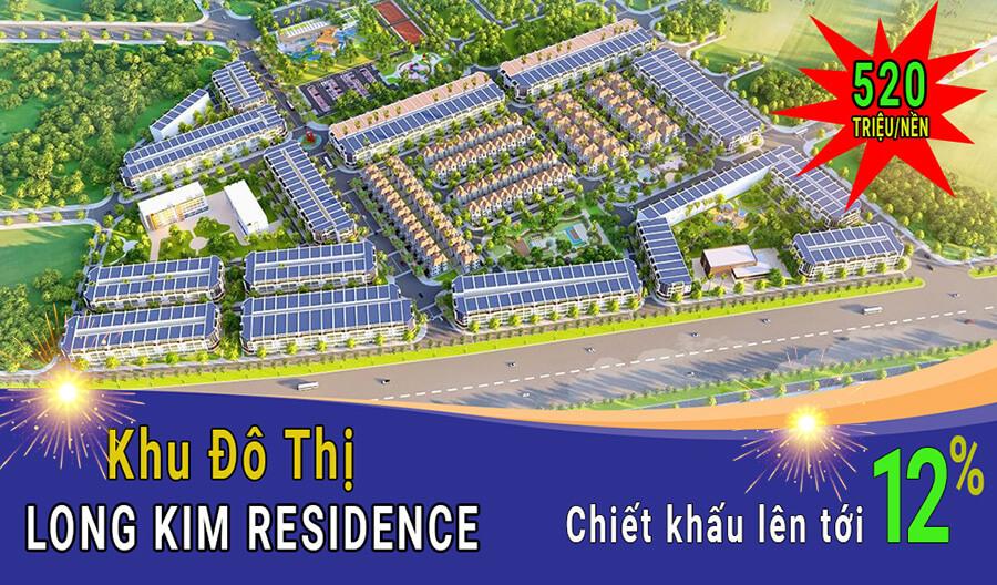 Dự án đất nền Long Kim Residence Bến Lức - Long An