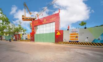 Hình ảnh mới nhất dự án Grand Center Quy Nhơn Hưng Thịnh