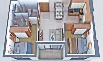 Căn hộ 2 phòng ngủ dự án New Galaxy và những thông tin cần biết.