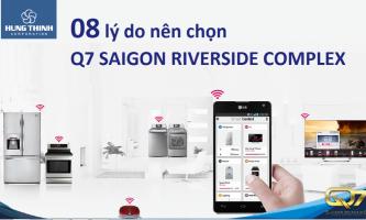 8 lý do nên mua căn hộ Q7 Sài Gòn Riverside Complex