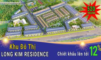 Giá bán dự án đất nền Long Kim Residence bao nhiêu một nền?